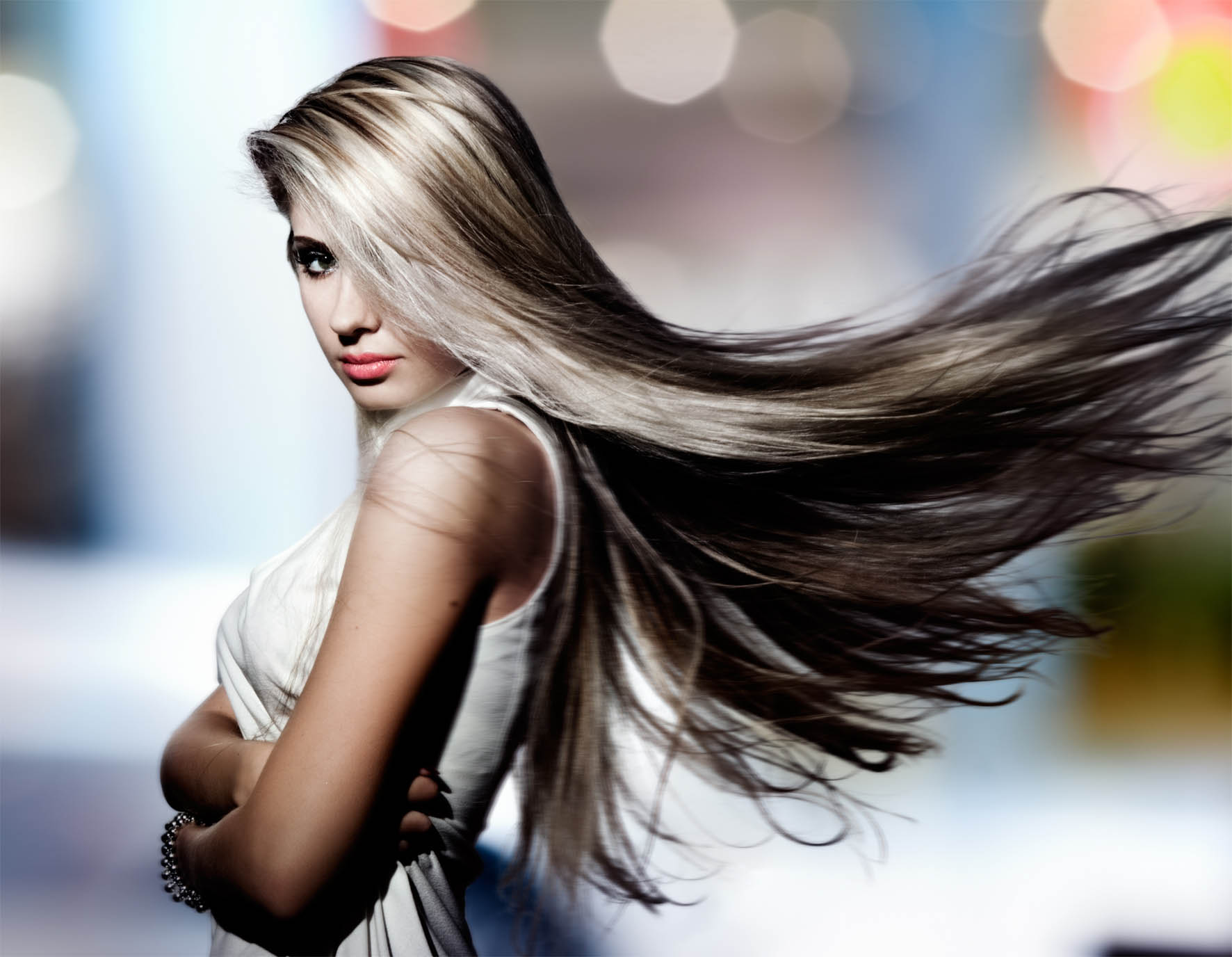 Balayage cheveux chatains - Gil Coiffeur